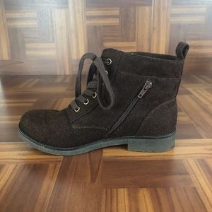 ROCKET DOG Brown Lace Up Ankle Boots